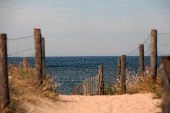 Les Hameaux des Marines : Beach View