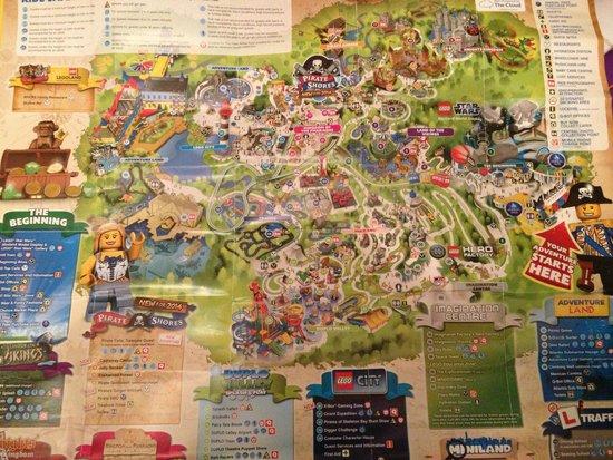 Entire Map Of Resort Picture Of Legoland Windsor Resort Windsor - Windsor map