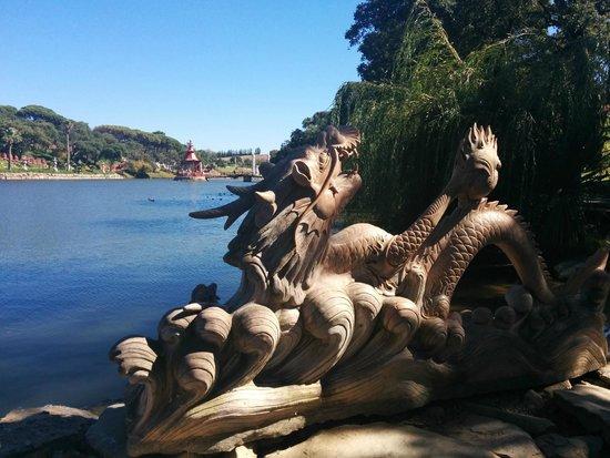 Buddha Eden Garden : O lago