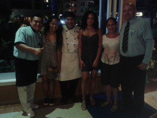 Occidental Costa Cancun: Restaurante Buffet Albatros