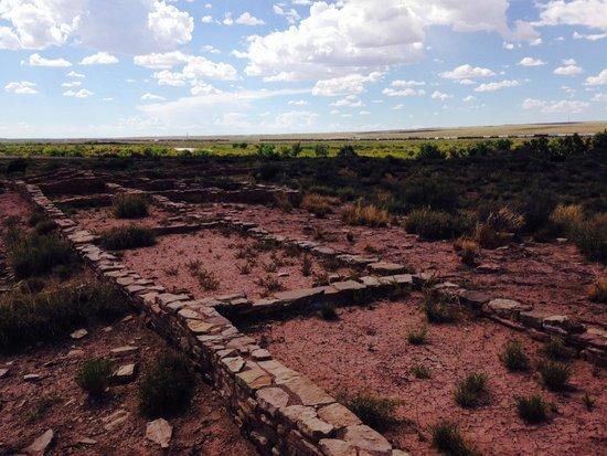 Painted Desert : Ruins