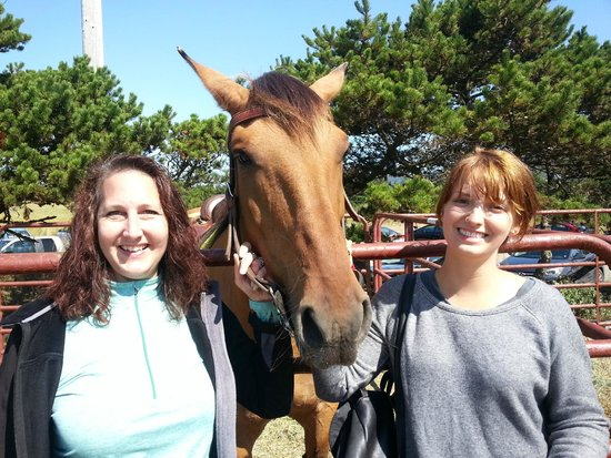 Green Acres Beach & Trail Rides: Donna,Tiny & Audrey