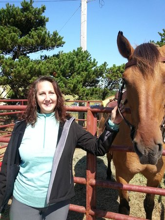 Green Acres Beach & Trail Rides: Donna & Tiny