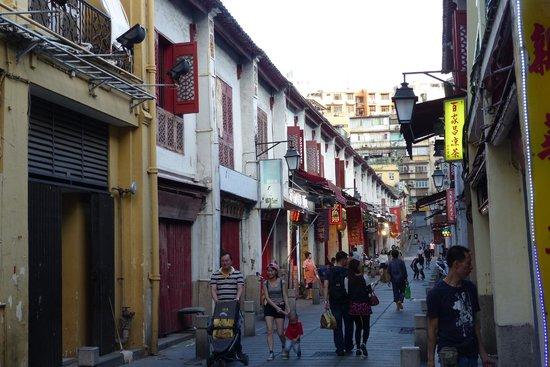 Rua da Felicidade - during the day