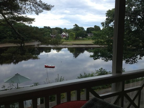 Bufflehead Cove Inn: View from private balcony