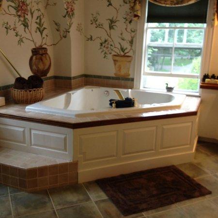 Bufflehead Cove Inn : Awesome tub