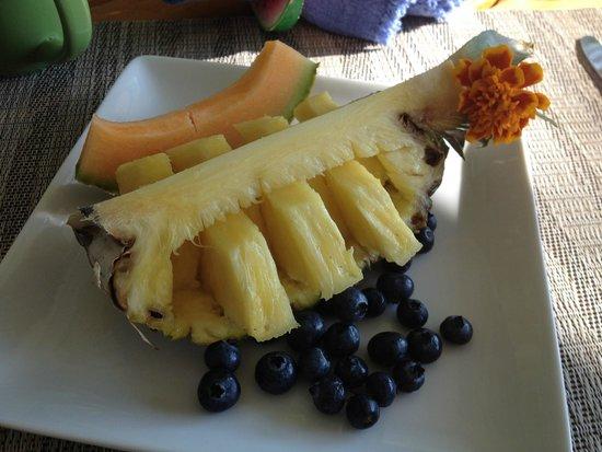 Bufflehead Cove Inn : First course-breakfast