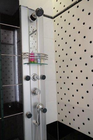 Athens Diamond Homtel: Clean Bathroom with a Nice Shower