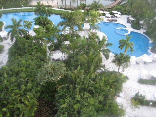 Grand Luxxe Nuevo Vallarta: view from balcony