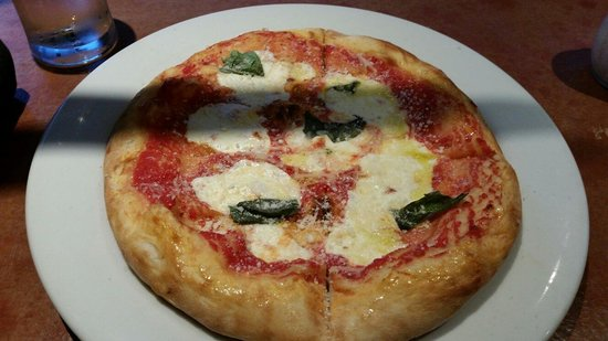 Positive Pie 2: Margherita pizza just right for one.