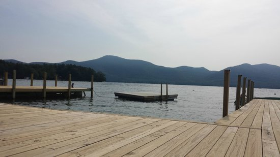 The Lodges at Blue Water Manor: swimming dock