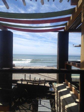 Villa Ortega's: Back patio view