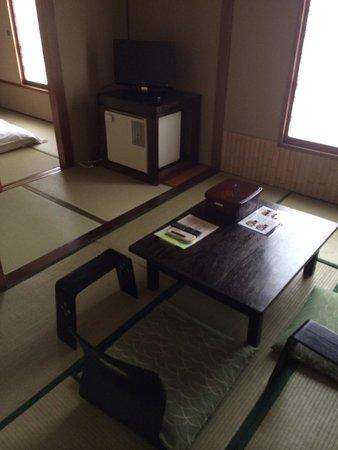 Hotel Edoya : Sala de estar estilo japonés