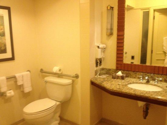 Santiago Marriott Hotel: Bathroom