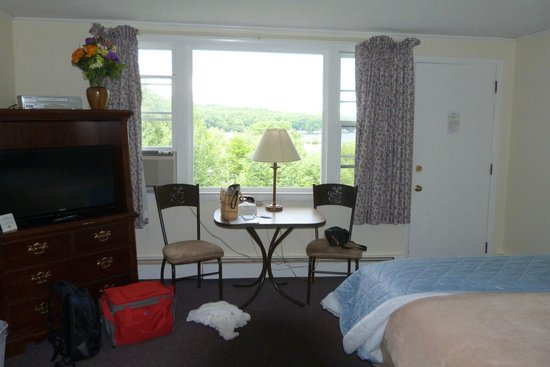 The Lake Inn at Mt. Sunapee: view from the room
