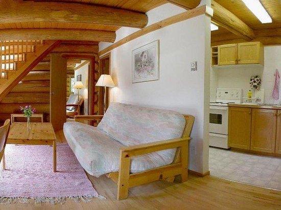 Blue Sky Resort: living-room, cottage Rose
