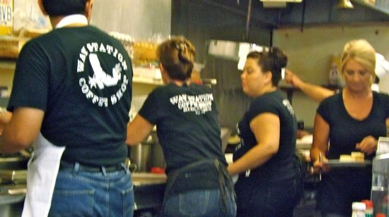 Wait staff waiting. - Picture of Way Station Coffee Shop, Newhall ...