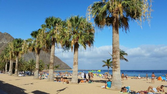 Playa de las Teresitas : Beautiful