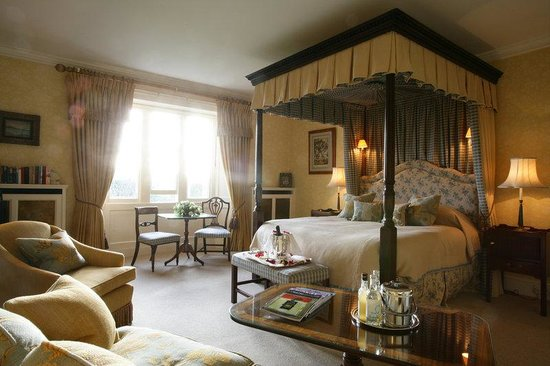 The Bath Priory Hotel: Carnation Junior Suite