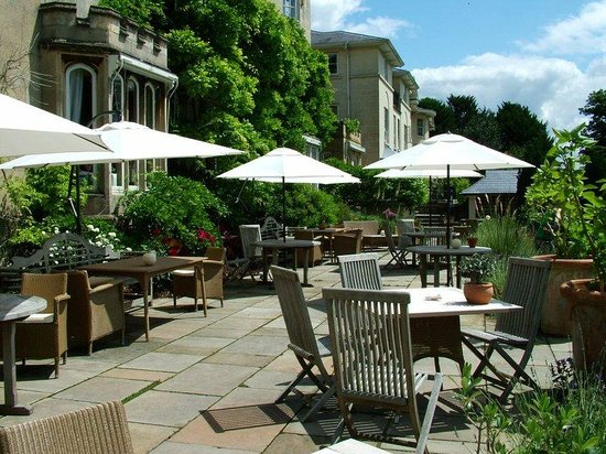 The Bath Priory Hotel: Garden Terrace