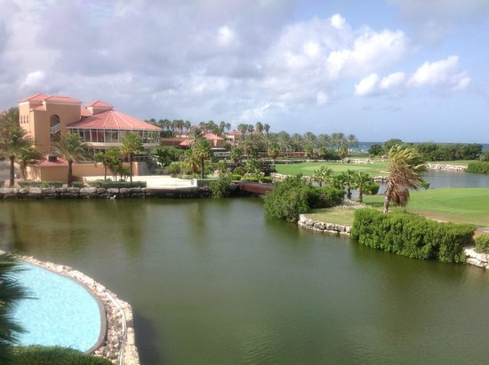 Our view of the pool picture of divi village golf and - Divi village golf and beach resort ...