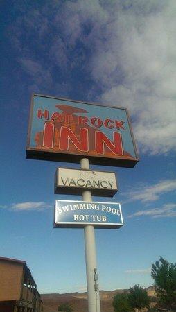 Hat Rock Inn : Insegna!!