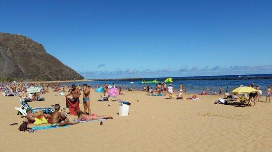 Playa de las Teresitas : Nice place to snorkel too