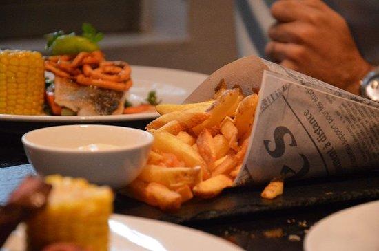 Zebedeus : A batata frita é ótima.