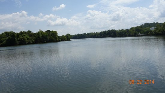 Ijams Nature Center : View over Tennesee River