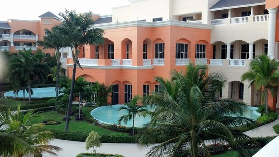 Iberostar Rose Hall Suites : Main building, view from room