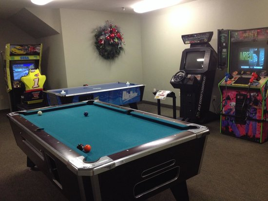 The Inn at Christmas Place: Game room