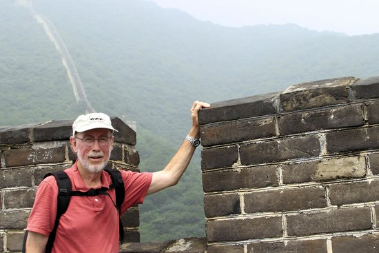 Gran Muralla China en Mutianyu: PhotoGuy reaches the Great Wall, a major life destination.
