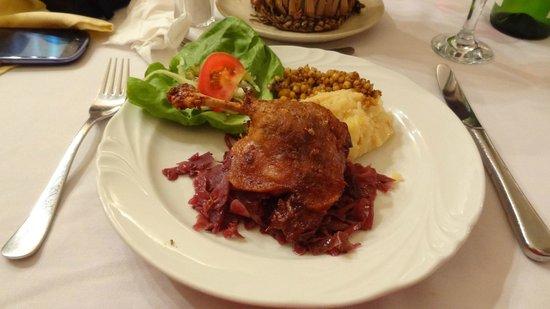 Borkatakomba Restaurant : Pato