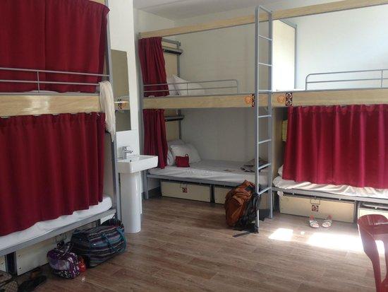 St Christopher's Gare du Nord Paris: An 8-Female dorm