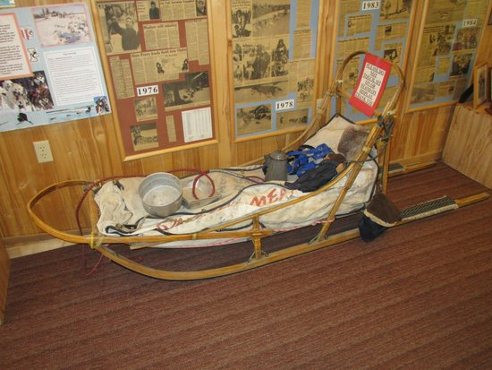 Iditarod Headquarters: Sled