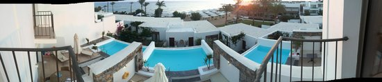 Amirandes, Grecotel Exclusive Resort : view from our room