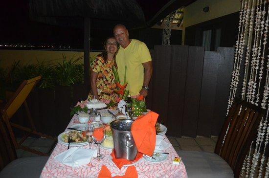 Pontal De Ocapora: Jantar a luz de velas!!! Amei