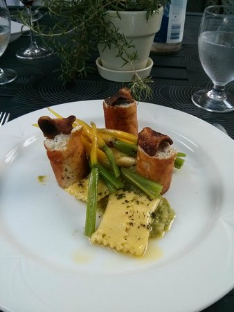 The Athlone Inn: Chicken Boudin Blanc