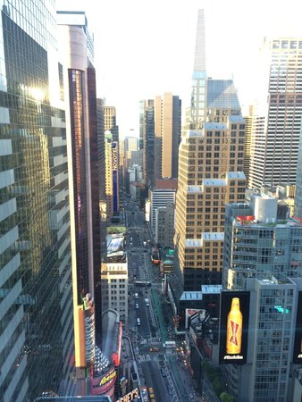 W New York - Times Square: View out of living room