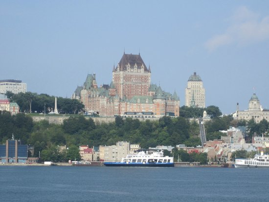 Quebec - Levis Ferry : Views from the ferry