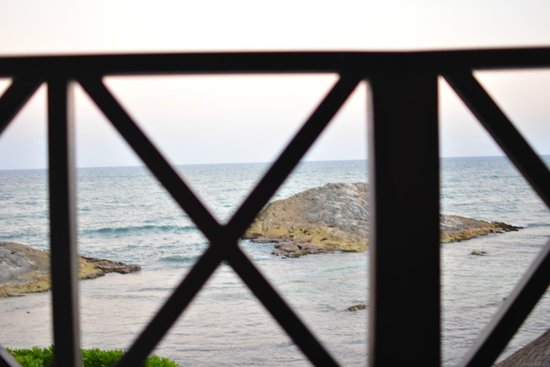 El Pez Colibri Boutique Hotel: On our terrace looking out to the ocean