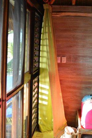 El Pez Colibri Boutique Hotel: inside our room, doors to the terrace