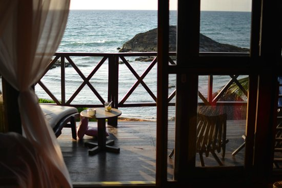 El Pez Colibri Boutique Hotel: View from our room so comfy and cozy with a paradise view!