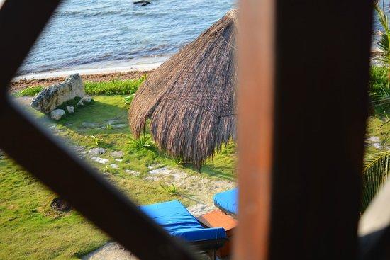 El Pez Colibri Boutique Hotel: View from terrace