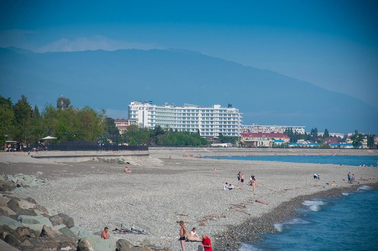 Radisson Blu Paradise Resort & Spa Sochi: Отель