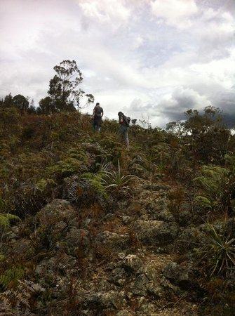 Raquira Silvestre Lodge : Hiking