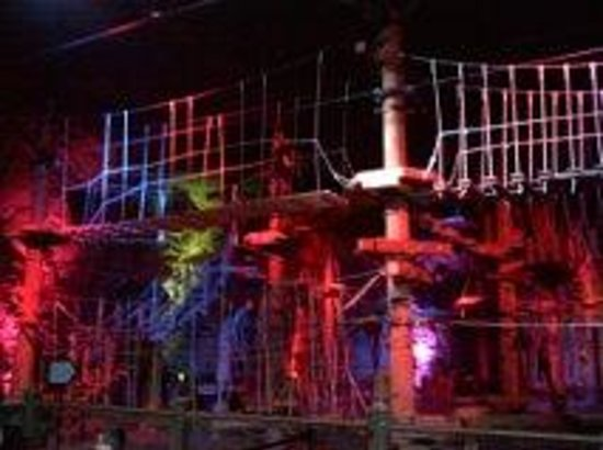 Louisville Mega Cavern: aerial ropes challenge course