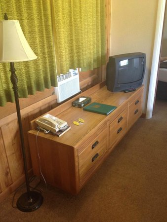 Coyote Mountain Lodge: Room furnishings
