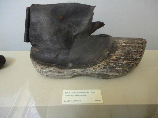 Museo Nacional de Arqueología de Irlanda: Boots