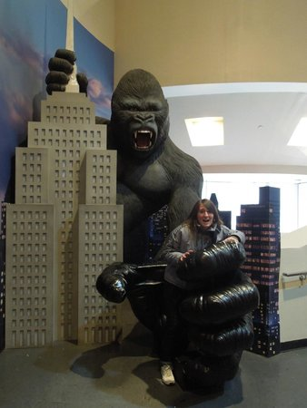 Madame Tussauds New York : King Kong!!!